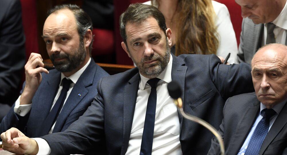 Fransa'nın Parlamento ile İlişkilerden sorumlu Devlet Sekreteri Christophe Castaner