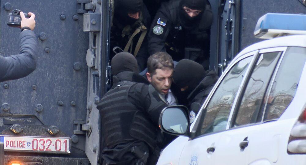 Sırbistan'ın Kosova Ofisi Müdürü Marko Curiç