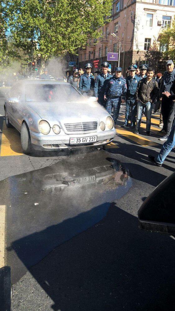 Erivan'da protesto gösterileri