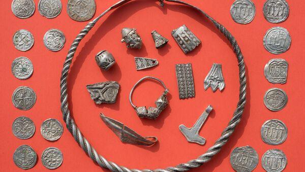 Efsanevi Danimarka Kralı Harald'a ait olduğu sanılan hazine - Sputnik Türkiye