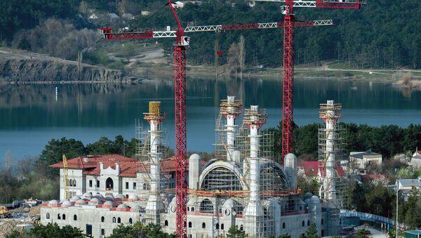 Simferopol'de Cuma Camii inşaatı - Sputnik Türkiye