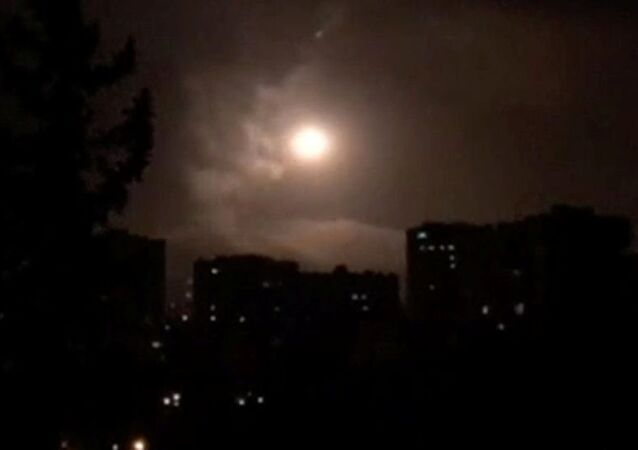 Suriye hava savunma sistemi, Humus üzerinde füzeleri etkisiz hale getirdi
