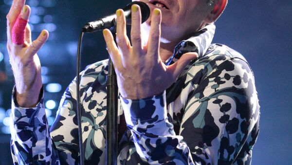 İngiliz şarkıcı Morrissey - Sputnik Türkiye