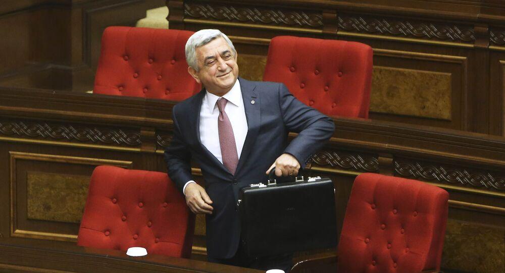 Eski Ermenistan Devlet Başkanı Serj Sarkisyan
