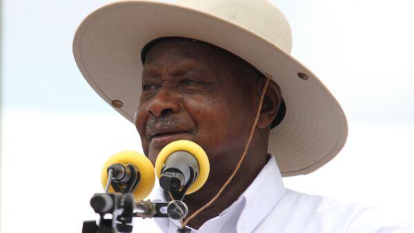 Uganda Devlet Başkanı Yoweri Museveni - Sputnik Türkiye