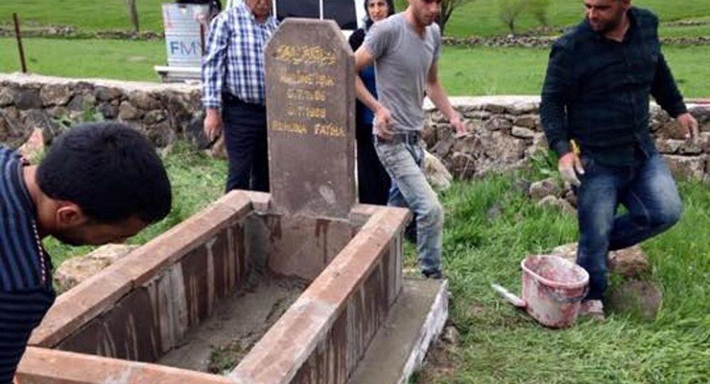 Ölmeden mezar taşını yaptırana yüzde 50 indirim