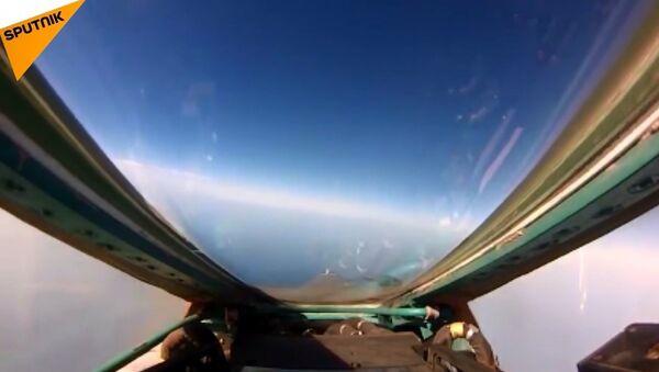 Rus Hava Kuvvetlerinden taktik tatbikat - Sputnik Türkiye