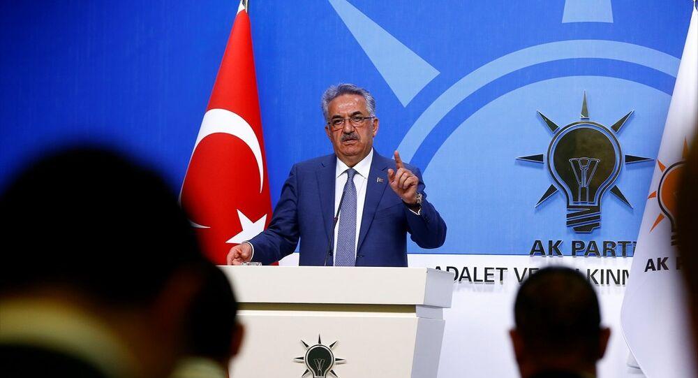 AK Parti Genel Başkan Yardımcısı Hayati Yazıcı