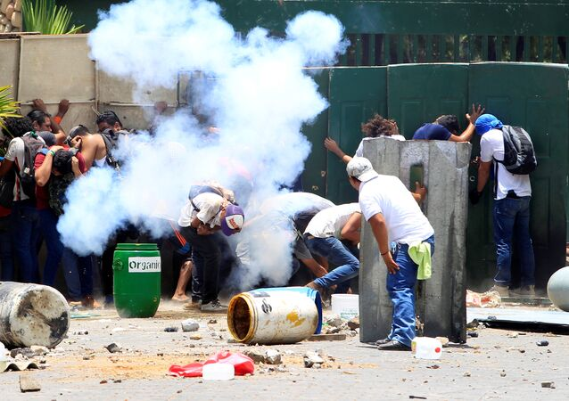 Nikaragua'da emekilik reformuna yönelik protestolardan en az 10 kişinin öldüğü, 88 kişinin yaralandığı haberleri geldi, 19 Nisan 2018