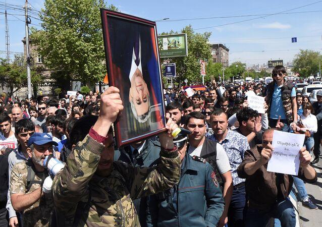 Erivan'daki gösteriler