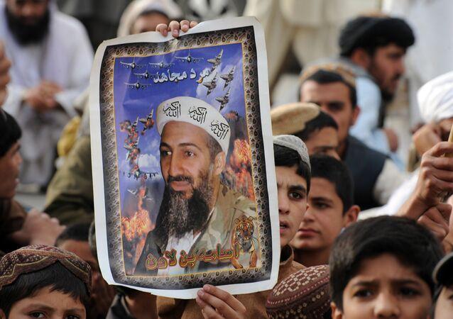2 Mayıs 2012, Usame bin Ladin'in öldürülmesinin 1. yıldönümü, Pakistan, Keta, Taliban yanlısı parti JUI-N gösterisi