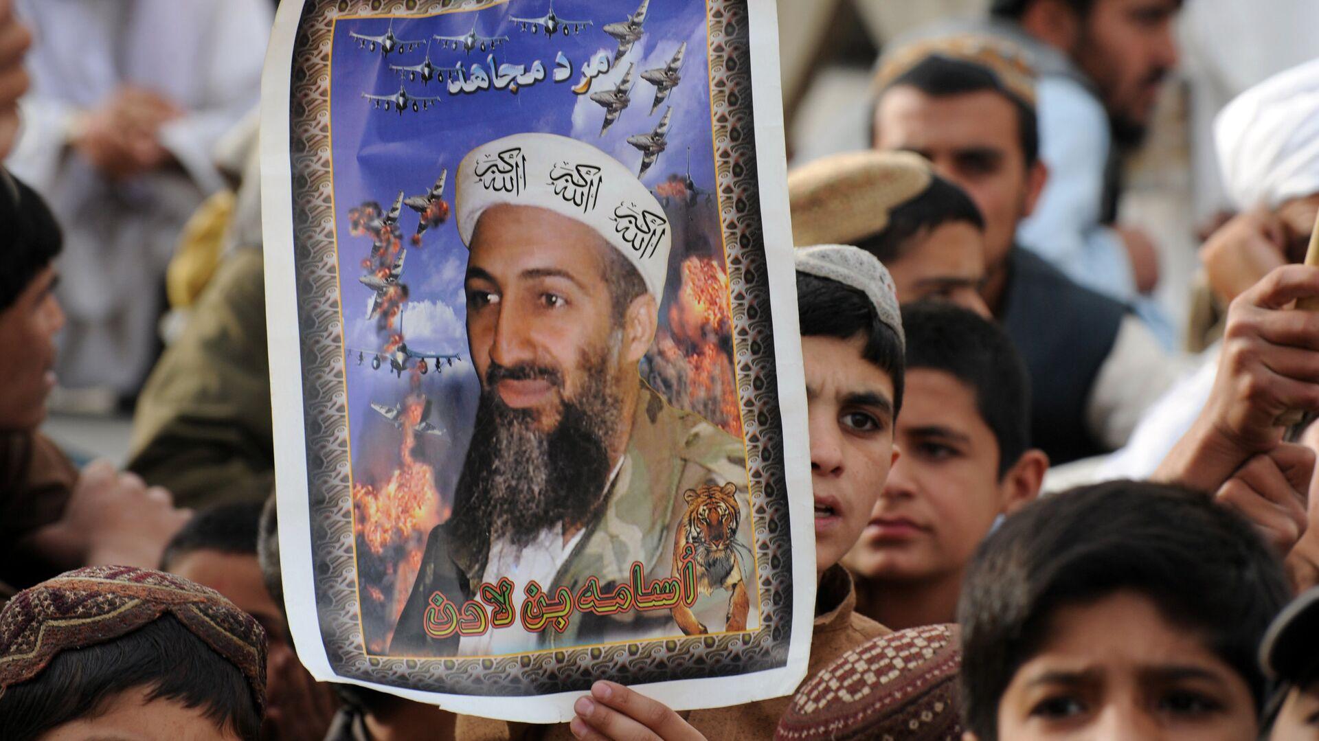 2 Mayıs 2012, Usame bin Ladin'in öldürülmesinin 1. yıldönümü, Pakistan, Keta, Taliban yanlısı parti JUI-N gösterisi - Sputnik Türkiye, 1920, 31.08.2021