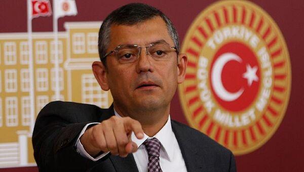 CHP Grup Başkanvekili Özgür Özel - Sputnik Türkiye