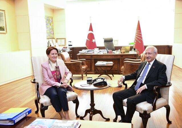 İYİ Parti Genel Başkanı Meral Akşener - CHP Genel Başkanı Kemal Kılıçdaroğlu