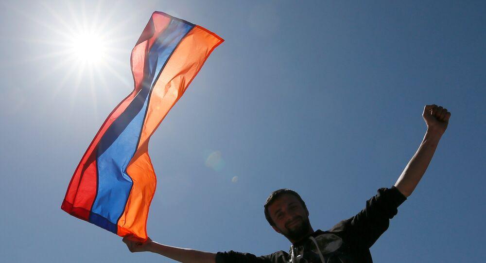 Ermenistan'daki gösteriler