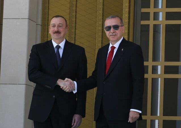 İlham Aliyev -Recep Tayyip Erdoğan