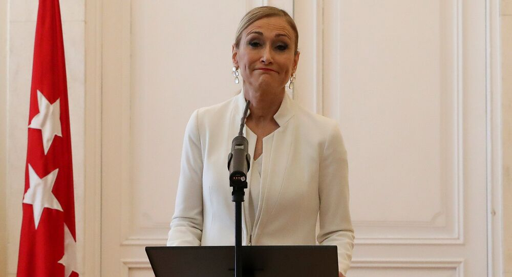 Cristina Cifuentes istifa açıklaması