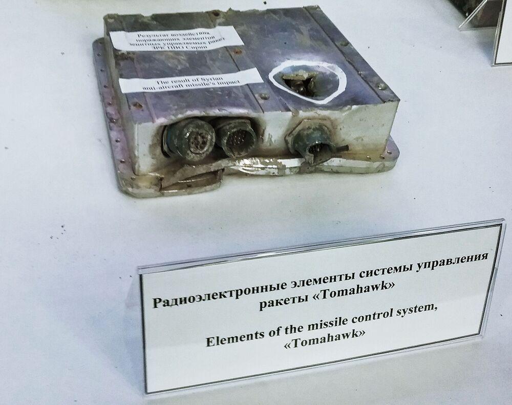 Tomahawk kontrol sisteminin parçaları