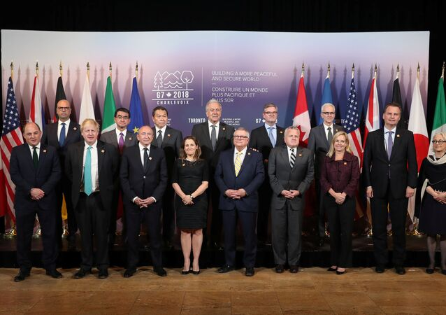 G7 ülkelerinin Dışişleri ve Savunma Bakanları Toronto'da