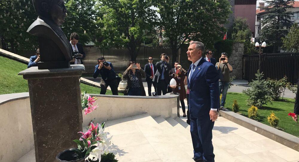 Tataristan Cumhurbaşkanı Rüstem Minnihanov