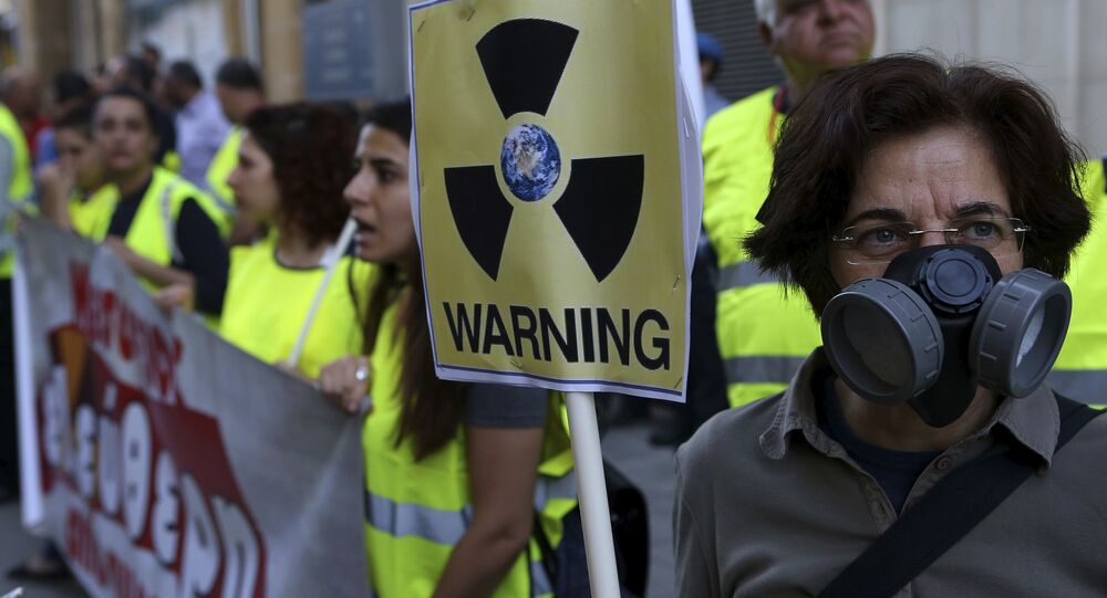 Kıbrıs'ta Akkuyu protestosu