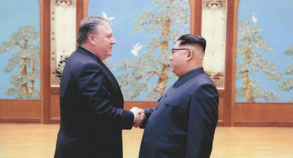 ABD'nin yeni Dışişleri Bakanı Mike Pompeo ve Kuzey Kore lideri Kim Jong-un