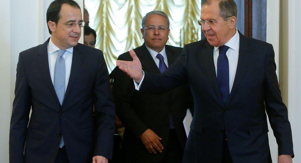 Kıbrıs Dışişleri Bakanı Nikos Hristodulidis ve Rusya Dışişleri Bakanı Sergey Lavrov
