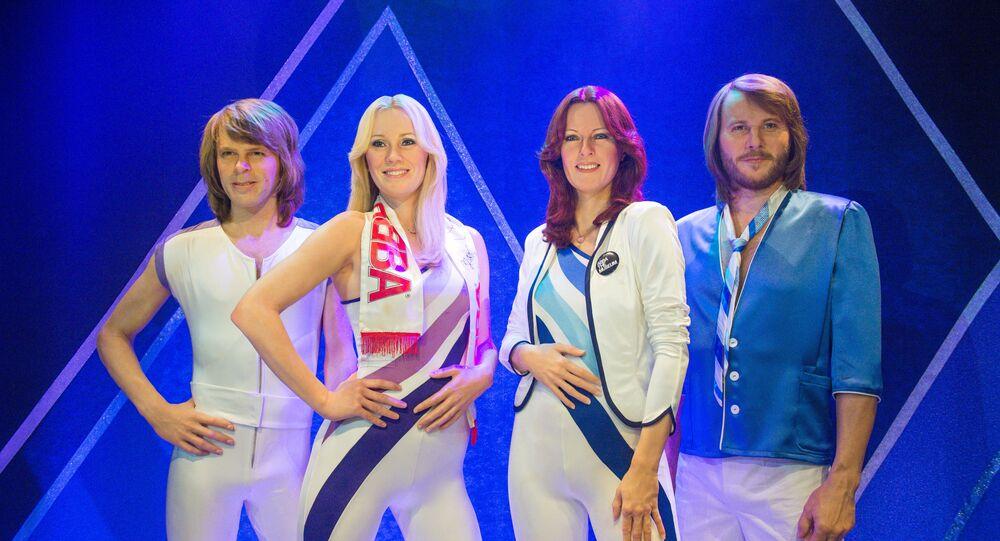 ABBA Müzesi'ndeki balmumu heykeller, Stockholm, İsveç