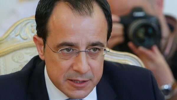 Kıbrıs Dışişleri Bakanı Nikos Hristodulidis - Sputnik Türkiye