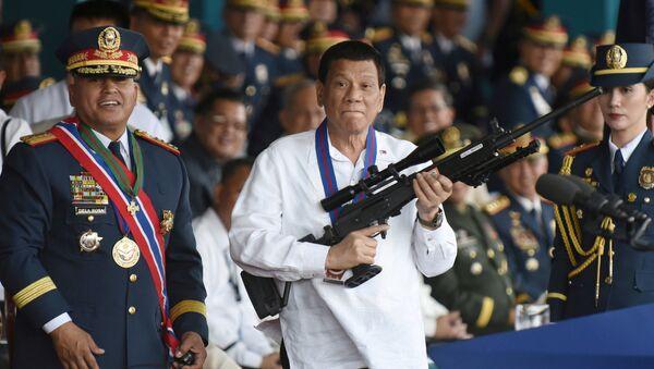 Filipinler lideri Rodrigo Duterte - Sputnik Türkiye