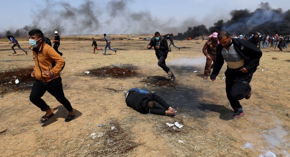İsrail-Gazze sınırındaki eylemler