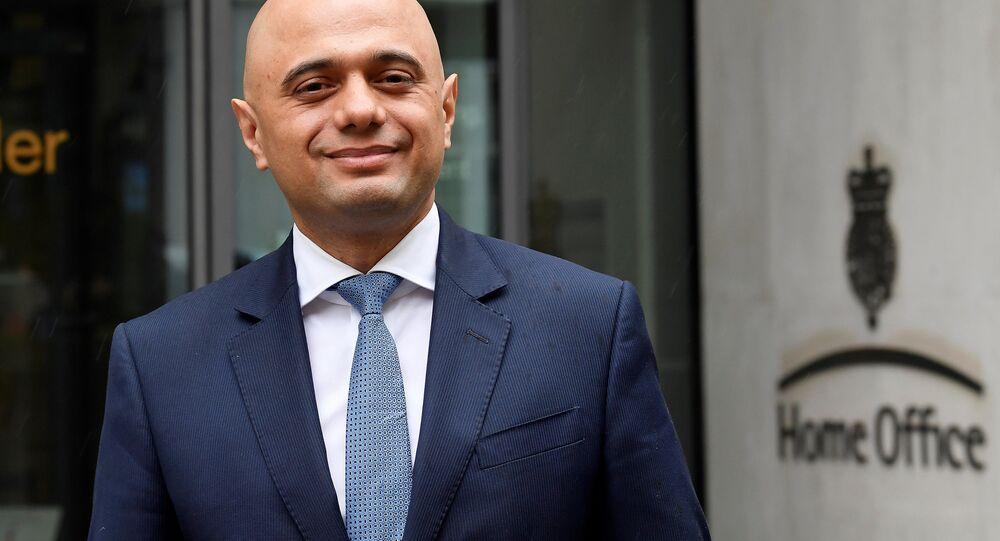 İngiltere'nin yeni İçişleri Bakanı Sajid Javid