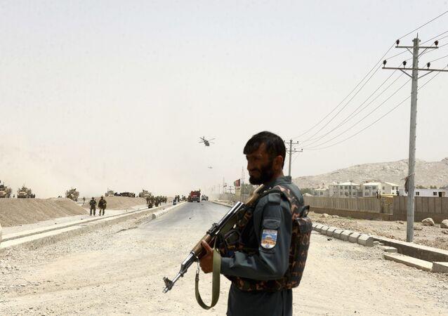 Kandahar-Afganistan polisi