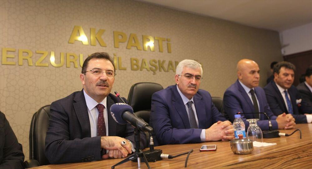Selami Altınok AK Parti Erzurum il başkanlığını ziyaret etti