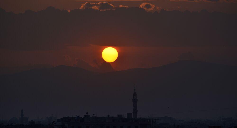 Şam-Yarmuk-Gün batımı