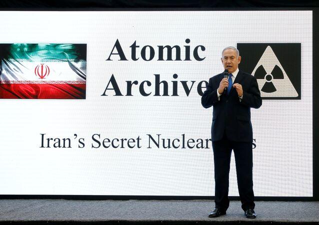 Ortadoğu'da nükleer silah sahibi olan tek ülkenin lideri, İran'ın gizli nükleer silah faaliyetlerine dair ellerinde yeni ve somut deliller olduğunu, İran'ın nükleer arşivinin kopyalarını ele geçirdiklerini iddia etti.
