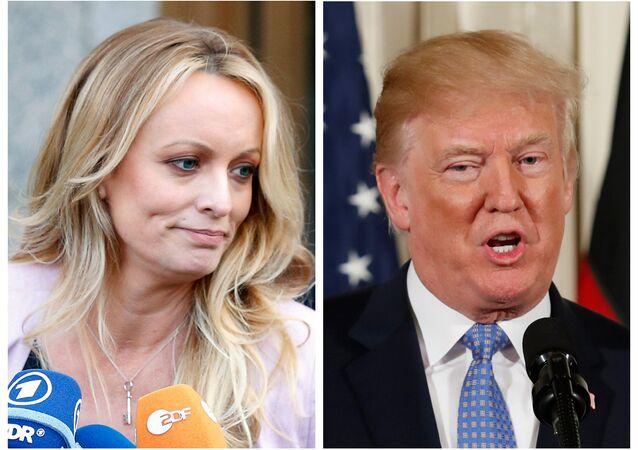 Stormy Daniels-Donald Trump