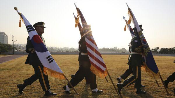 ABD-Güney Kore-Asker - Sputnik Türkiye