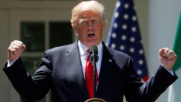 Donald Trump, Beyaz Saray - Sputnik Türkiye