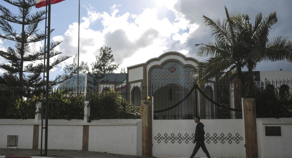 Fas'ın başkenti Rabat'taki Fas Büyükelçiliği