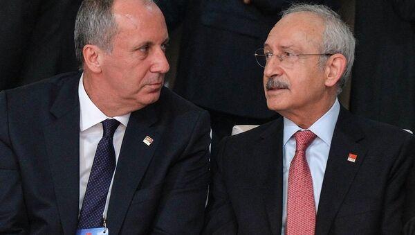 Kemal Kılıçdaroğlu - Muharrem İnce - Sputnik Türkiye