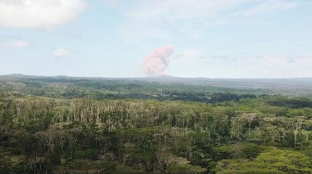 Hawaii Kilauea Yanardağı