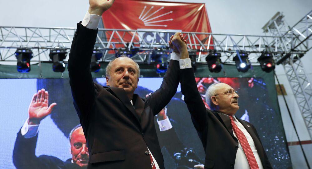 Muharrem İnce, Kemal Kılıçdaroğlu için Kendisini eleştirmiş, karşısında aday olmuş birisini cumhurbaşkanı göstermek her babayiğidin hakkı değildir dedi.