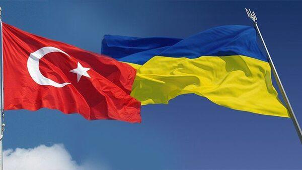 Ukrayna-Türkiye-Bayrak - Sputnik Türkiye