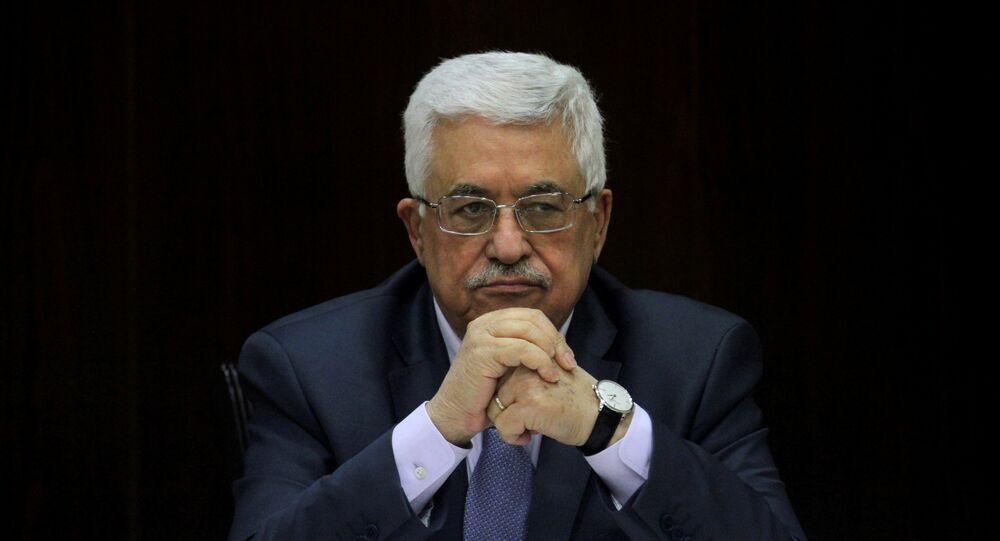 Filistin Devlet Başkanı Mahmud Abbas