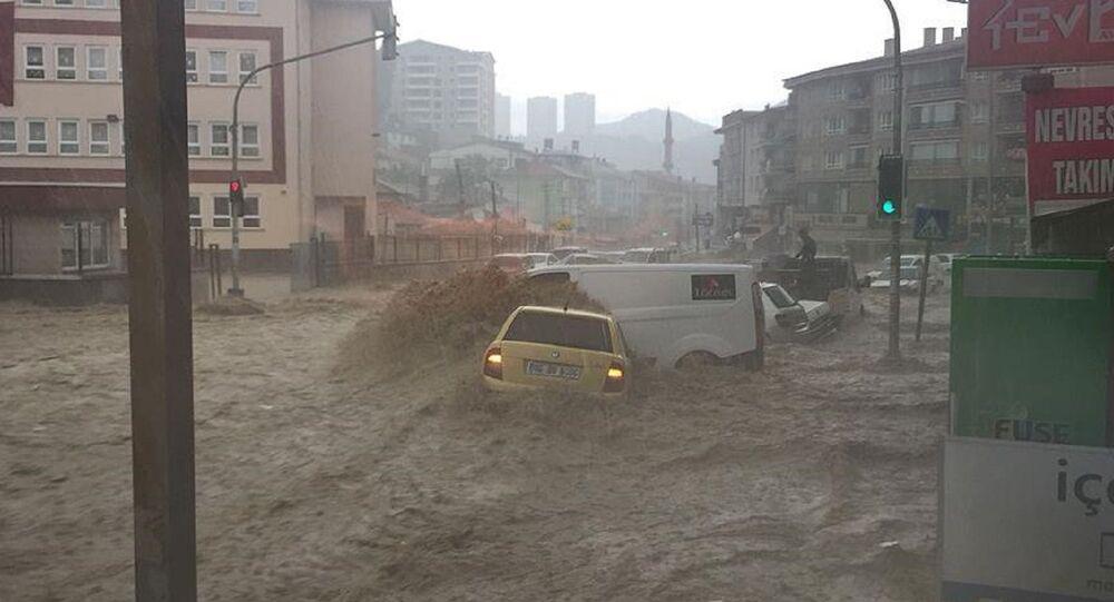 Ankara-Mamak'ta sel.
