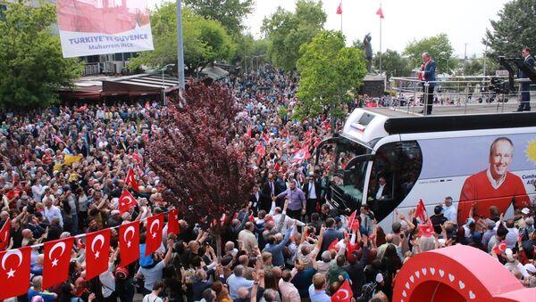 CHP'nin Cumhurbaşkanı Adayı Muharrem İnce, memleketi Yalova'da miting düzenledi. - Sputnik Türkiye