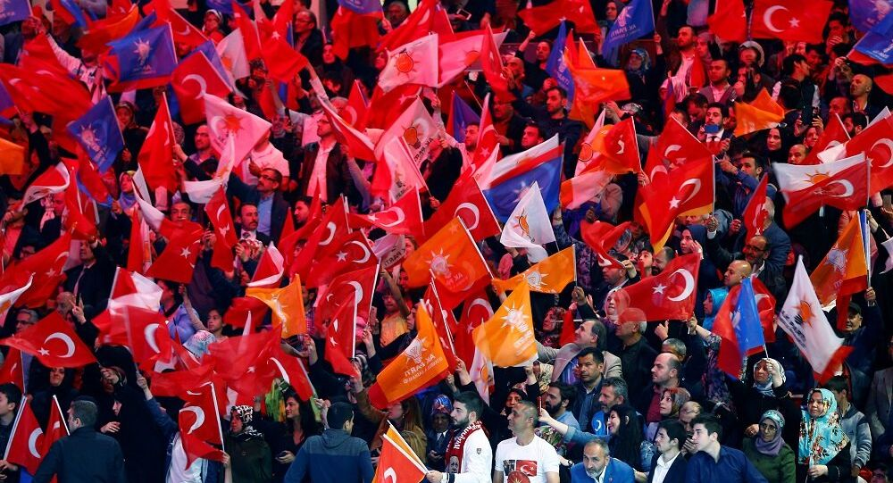 AK Parti, seçmen, bayrak