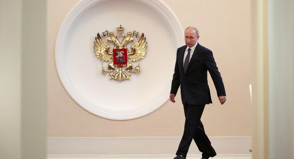 Rusya Devlet Başkanı Vladimir Putin'in yemin töreni