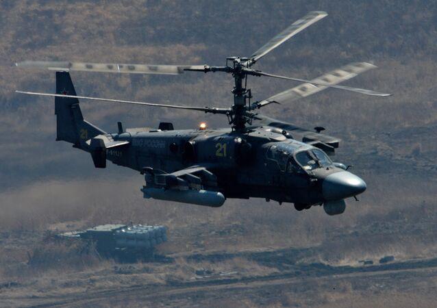 Rus Ka-52 helikopteri